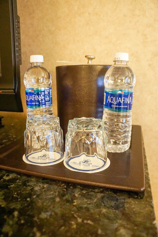 Hotel Hershey - complimentary water
