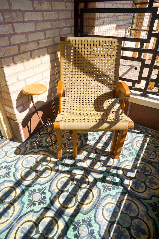 Chair in the sun - Hotel Emma
