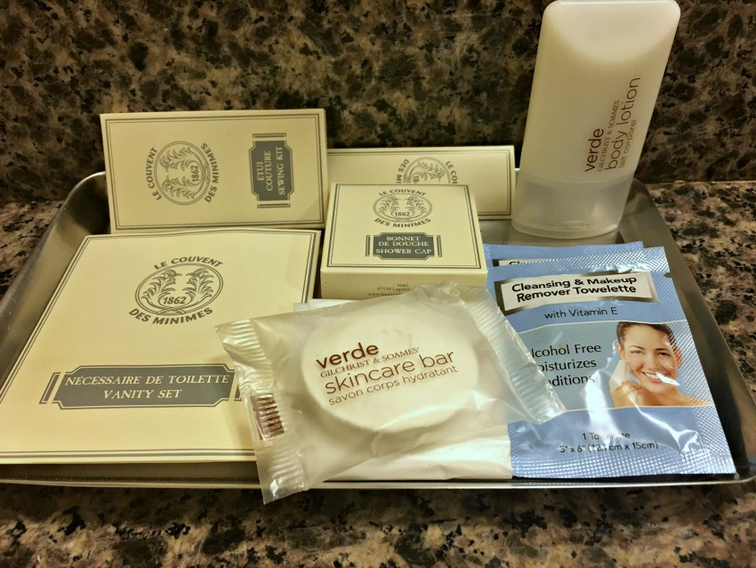 One Washington Circle Toiletries
