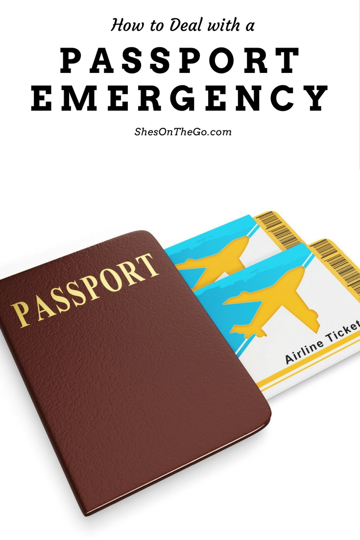 Passport emergency