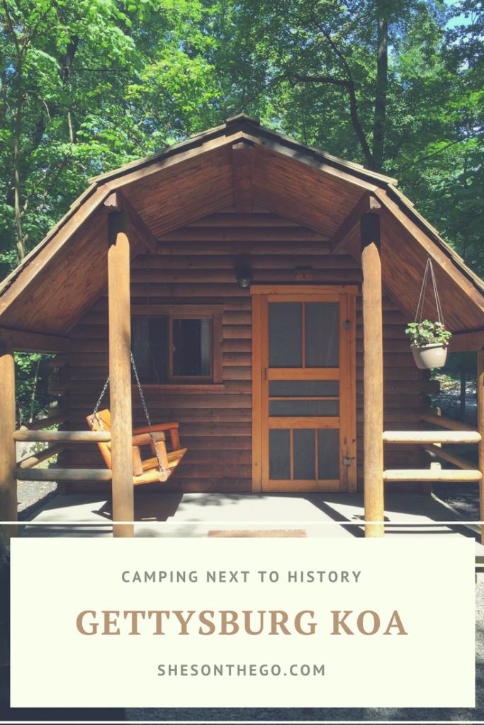 Camping at the Gettysburg KOA