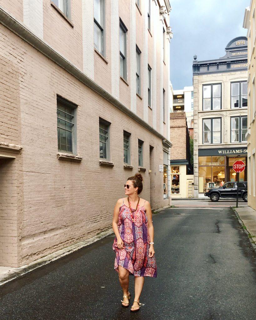Andrea Updyke in Charleston Street