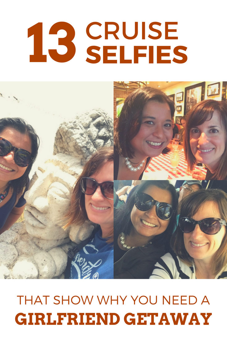 13 Cruise Selfies from a Girlfriend Getaway