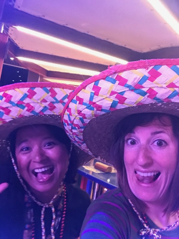 Stella and Fadra - Cinco de Mayo on Carnival Vista