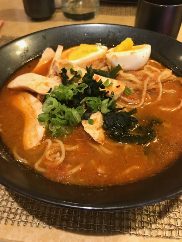 Ramen at Bonsai Sushi