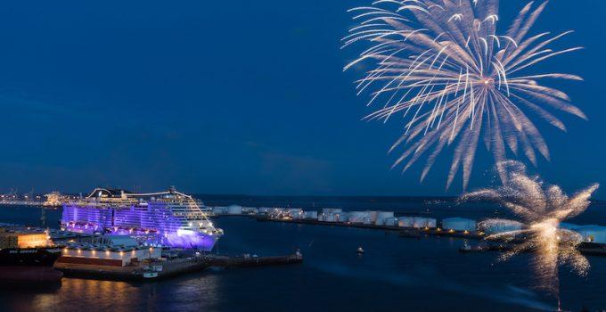 MSC Cruises and Sophia Loren Christen New Flagship, MSC Meraviglia