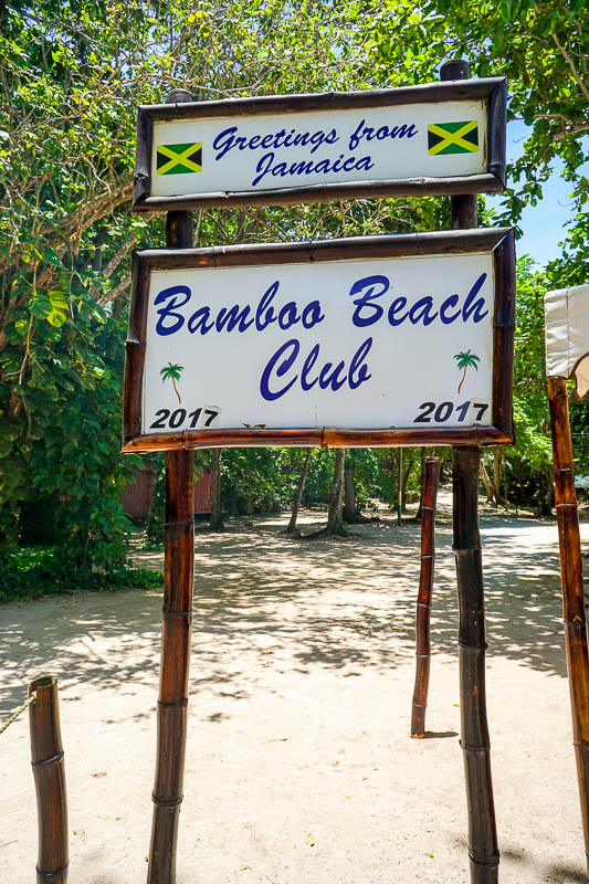 Bamboo Beach Club in Ocho Rios