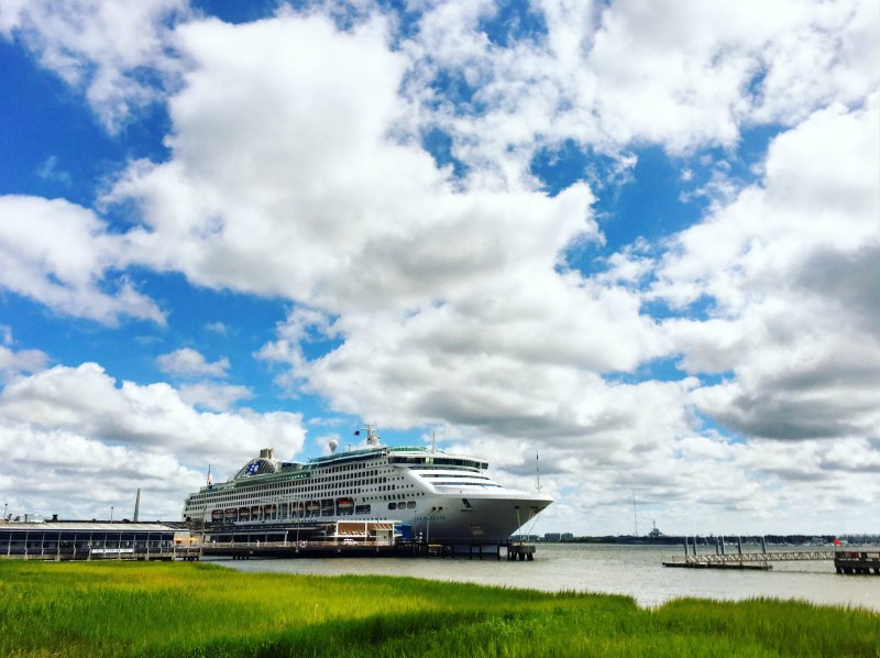 Cruise Ship Charleston Harbor