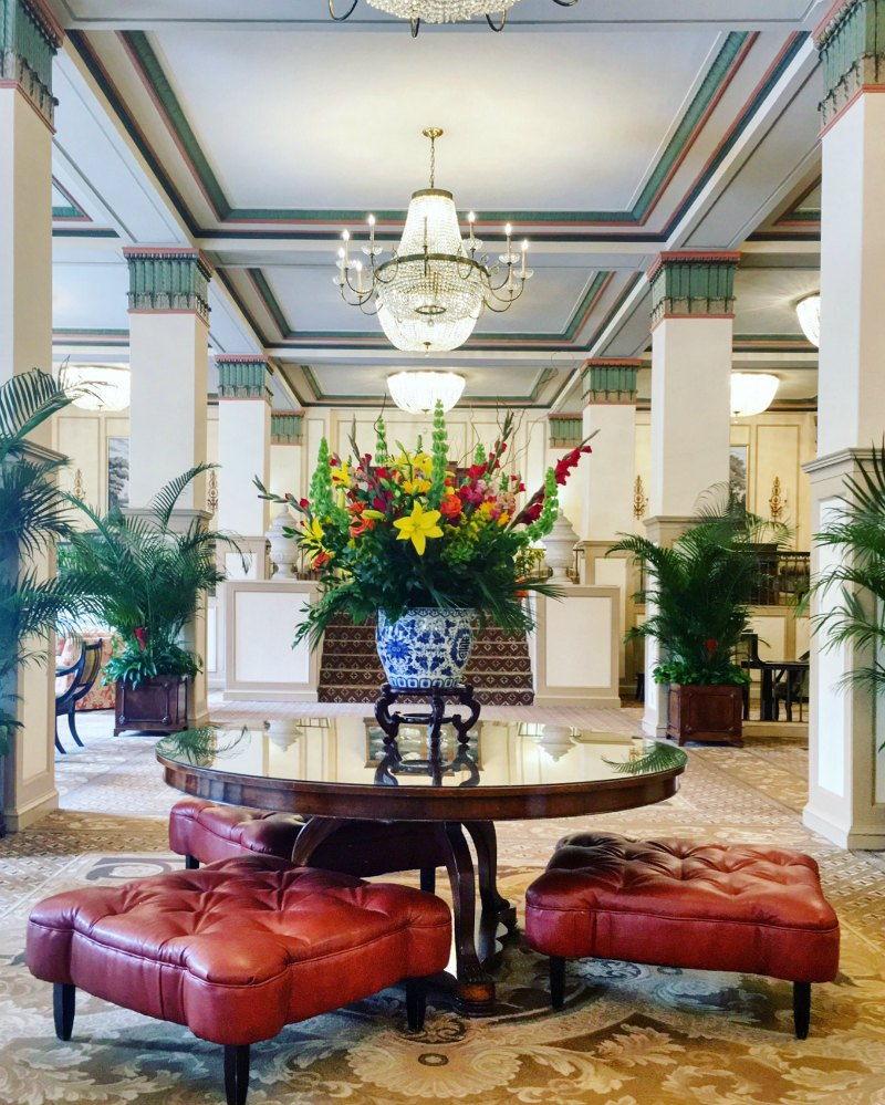 Francis Marion Hotel Lobby Charleston