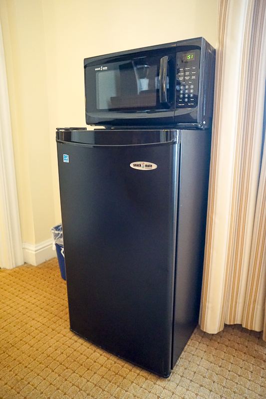 The George Washington Hotel - refrigerator