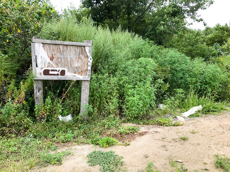 Don't look for signs at Dead Horse Bay