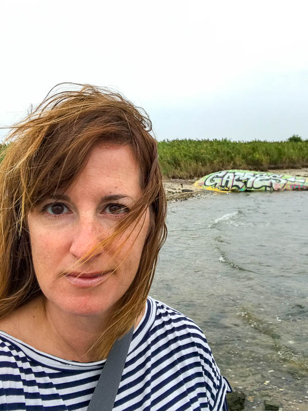 Fadra at Dead Horse Bay