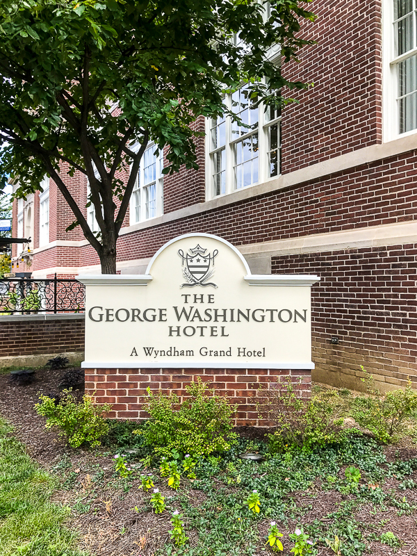 The George Washington Hotel in Winchester