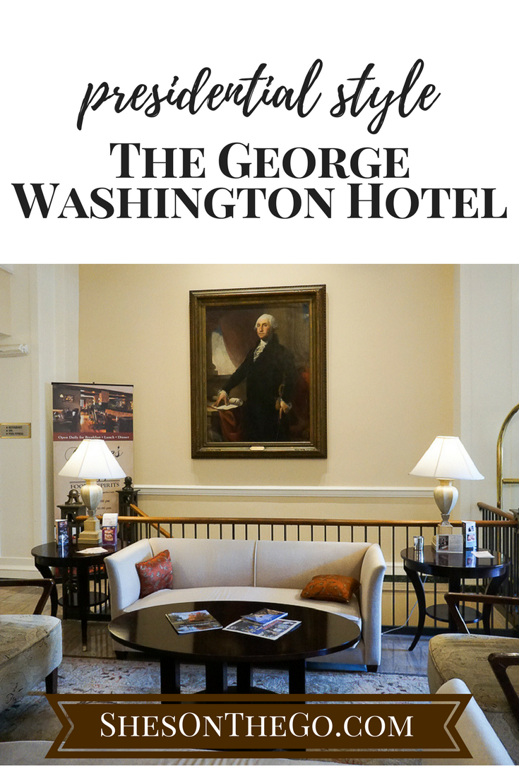 The George Washington Hotel in Winchester, VA