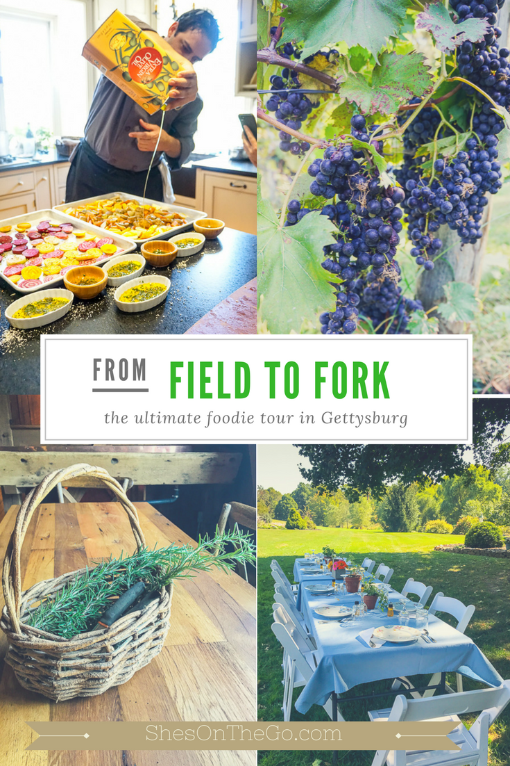 From Field to Fork Gettysburg food tour
