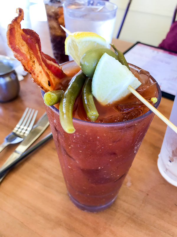 Bloody Mary at Ruby Slipper Cafe