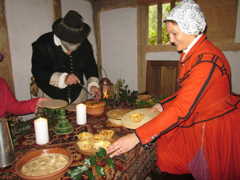 Williamsburg VA--A Colonial Christmas at Jamestown Settlement
