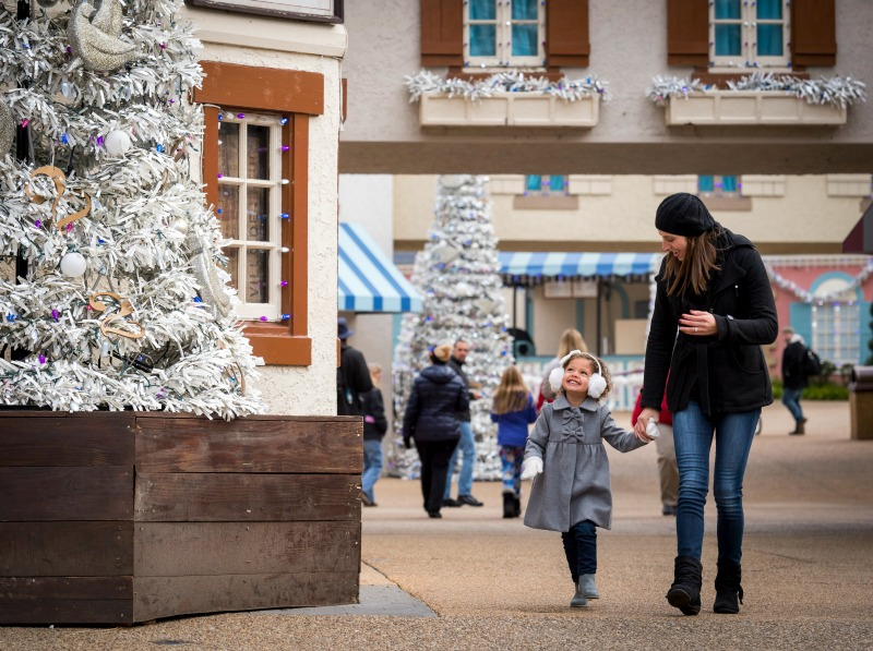Williamsburg VA--Busch Gardens is the prefect holiday destination with history, holiday magic and shopping!