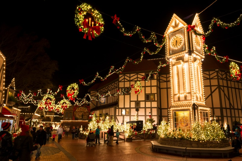 Williamsburg VA--Busch Gardens Christmas Town