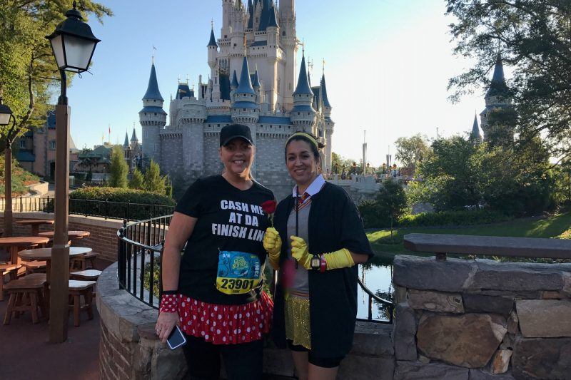 Running through Magic Kingdom is a bonus for Princess Half Marathon Weekend.