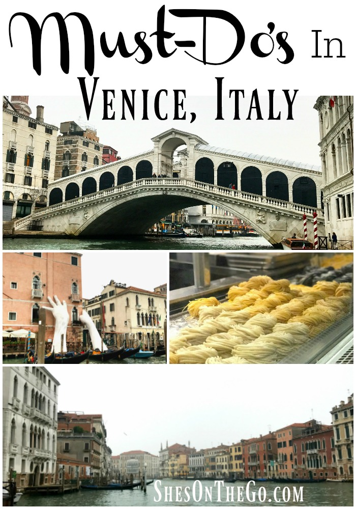 Must Do list for Venice, Italy