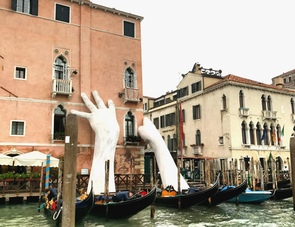 Venice hands