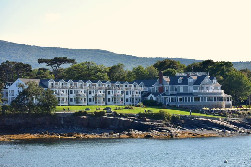 Bar Harbor Inn from Whale Watching tour