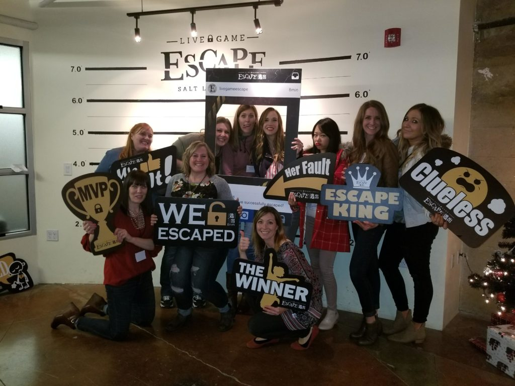 Escape room success in Salt Lake City