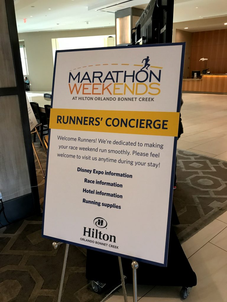 runDisney But Stay Hilton Orlando Bonnet Creek review