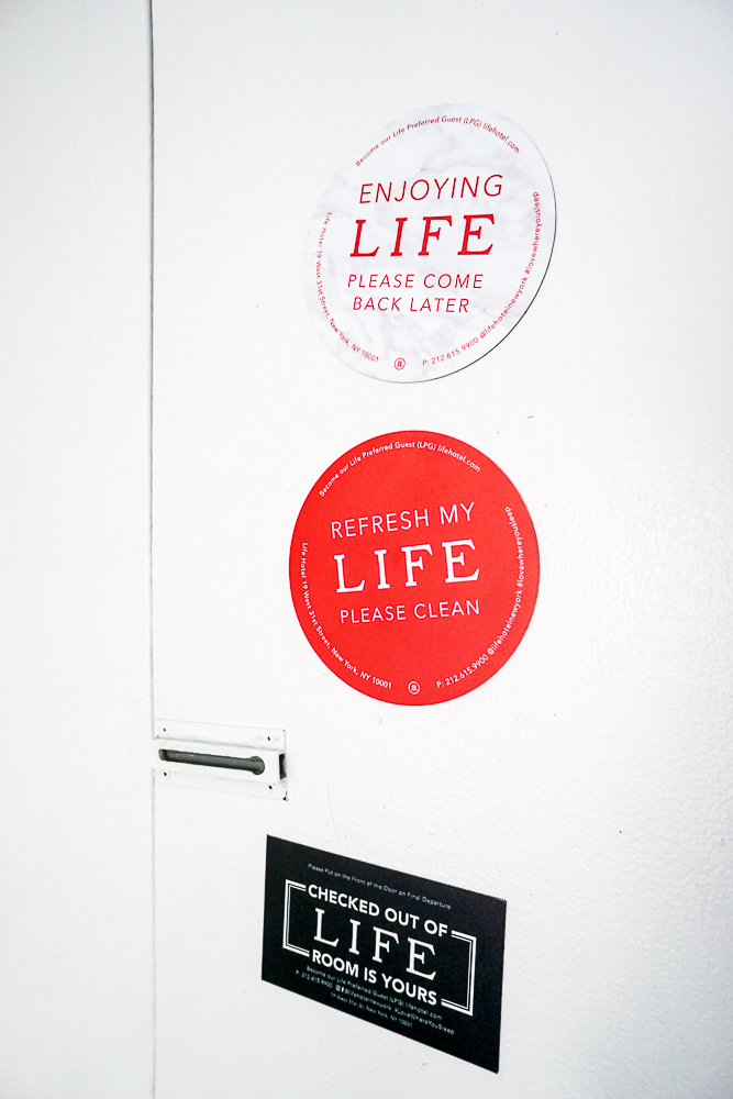 LIFE Hotel magnets