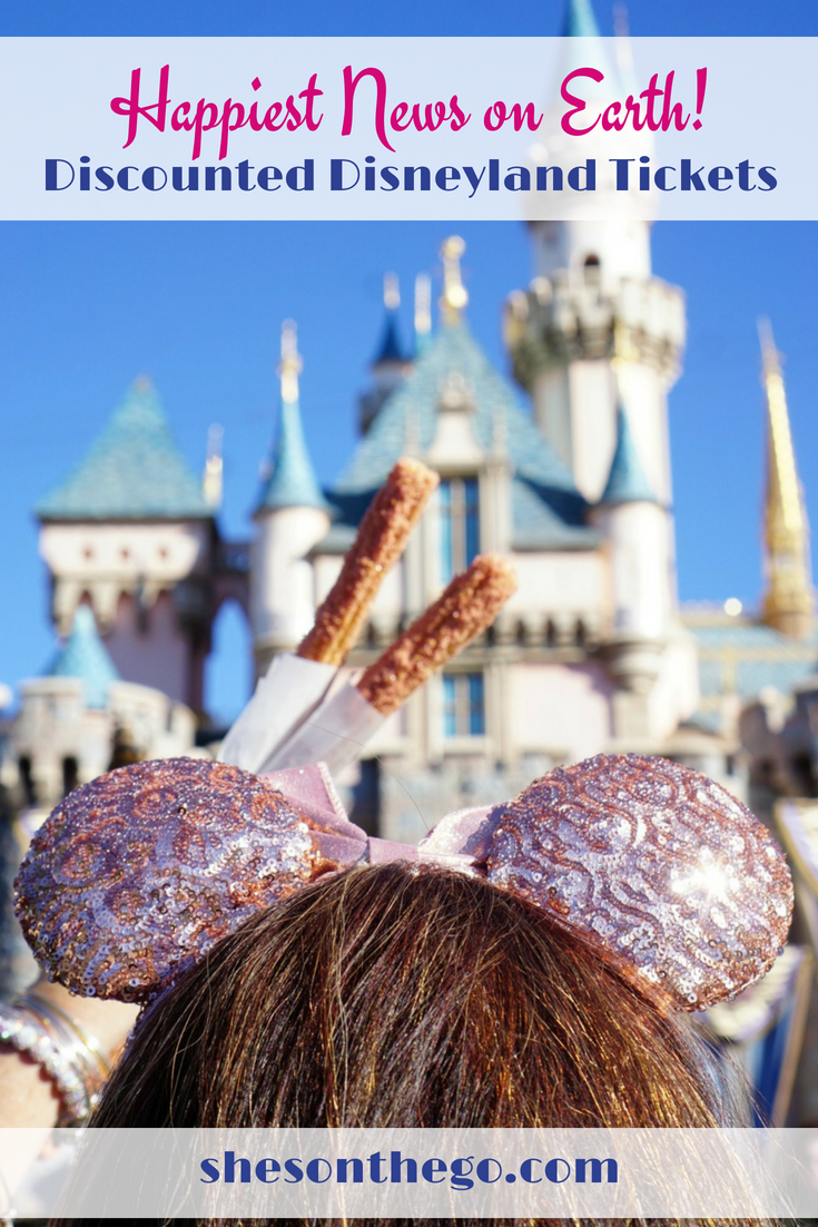 Discounted Disneyland Tickets available now! #Disneyland #Disney #familytravel