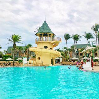 Disney's Vero Beach Resort Pool and Water Slide