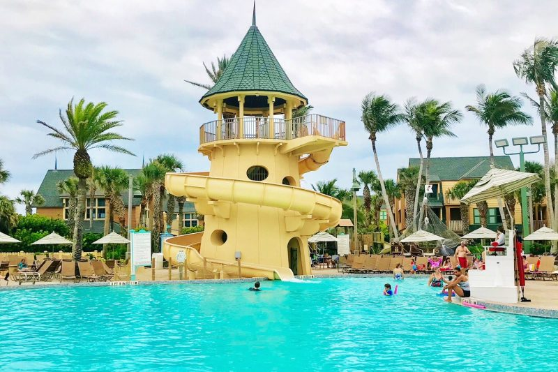 Disney's Vero Beach Resort Pool and Water Slide