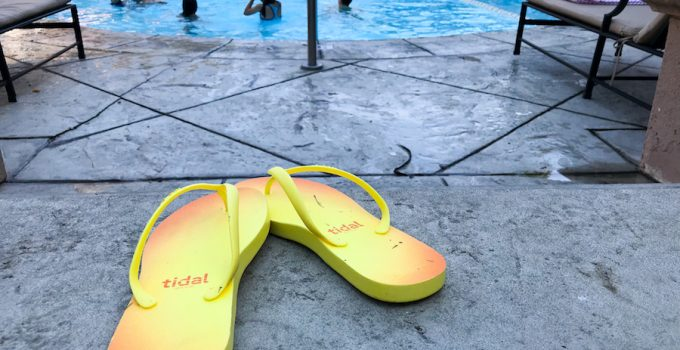 Tidal New York Flip Flops Keep All of Us on the Go