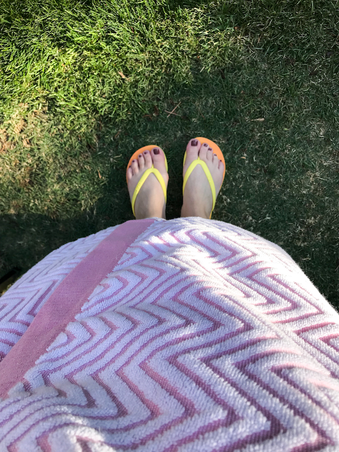 Tidal flip flops-Fadra