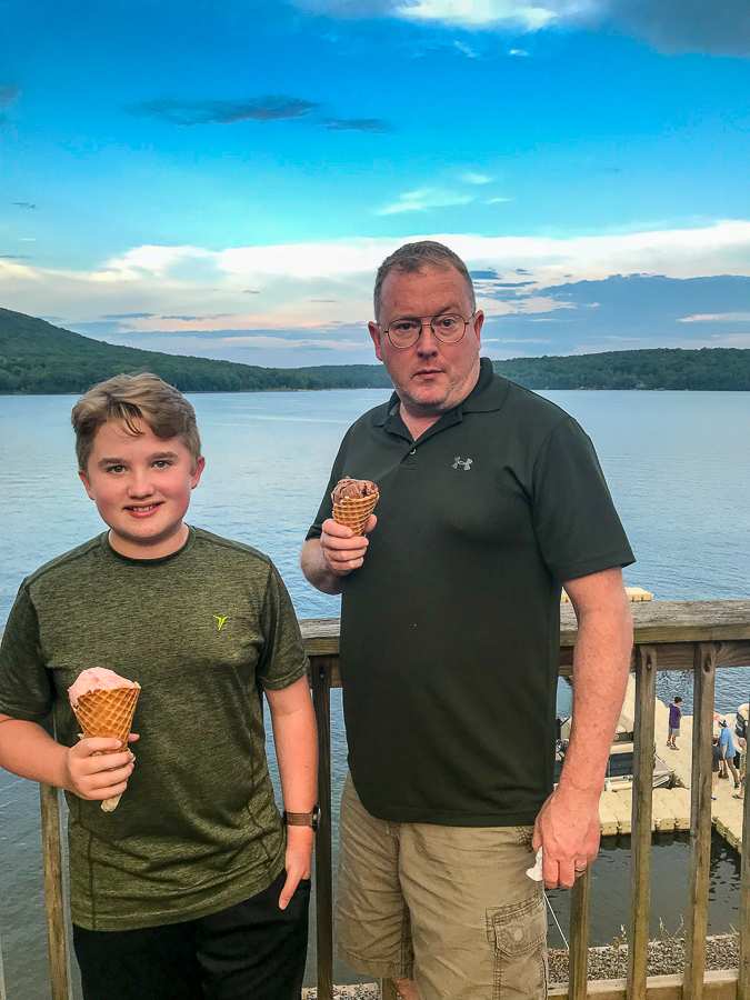 Lakeside Creamery in Deep Creek Lake
