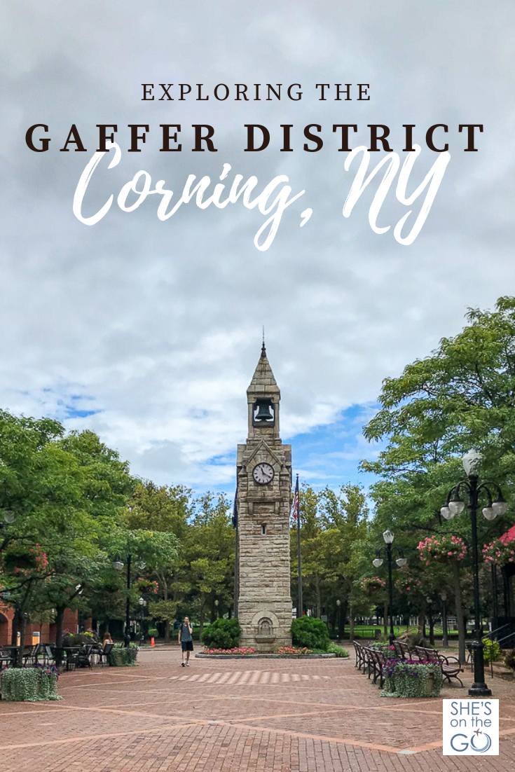 Gaffer District - Corning, NY