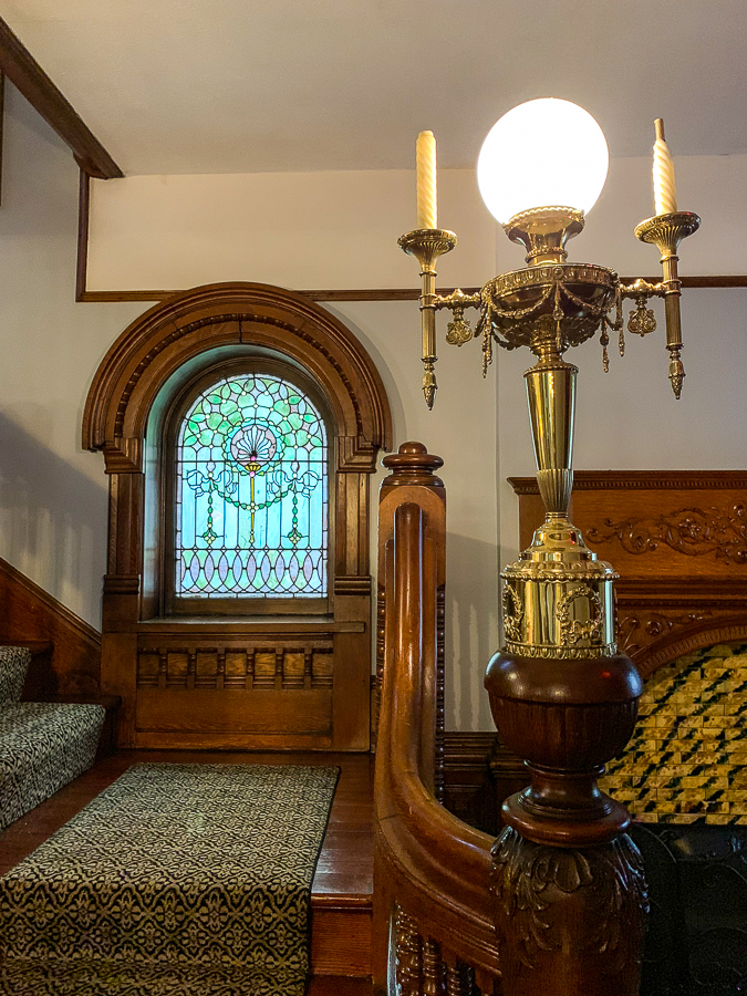 Staircase at Gage Mansion