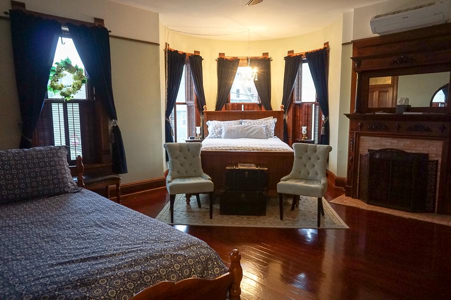 Gage Mansion corner room