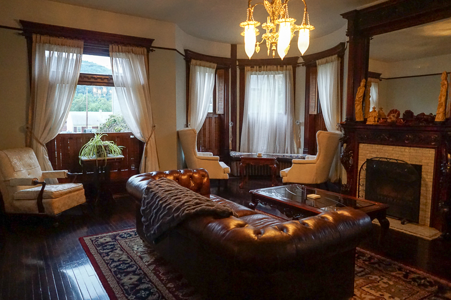 Gage Mansion parlor