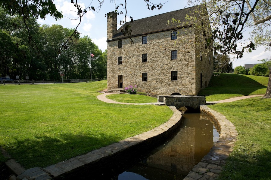 Mount Vernon gristmill