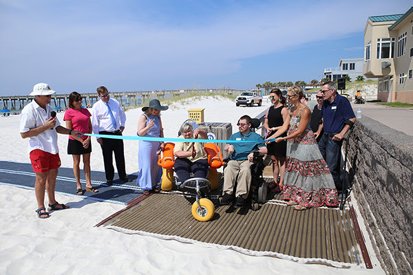wheelchair accessibility at Pensacola beaches