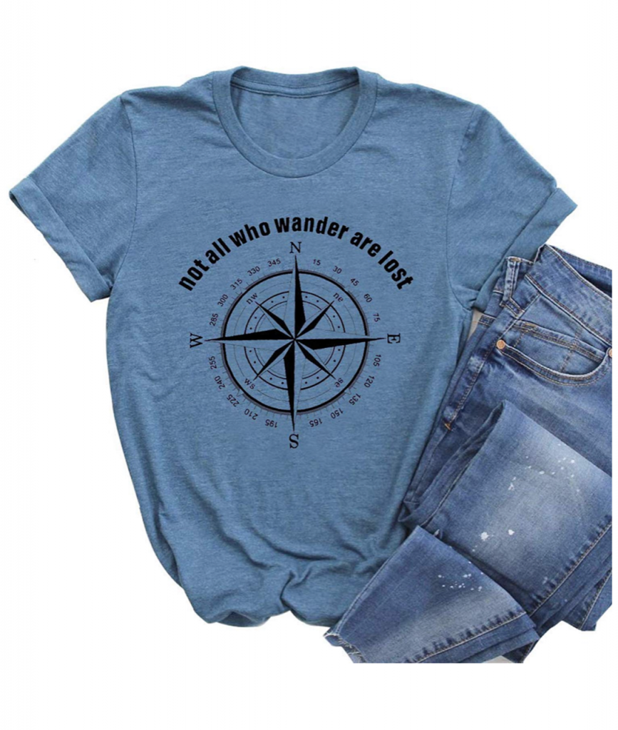 20 Travel Themed T-Shirts For women